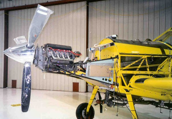 Air Tractor 401 with Orenda V8 Engine