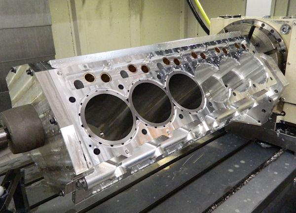 Clean Sheet 1200 Hp V 12 Engine By Epi Inc